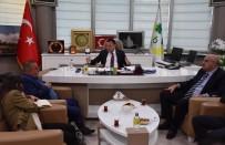 Başkan Beyoğlu'nun Kentsel Dönüşüm Ve Millet Bahçesi Görüşmeleri Sürüyor