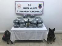 Narkotik Köpekleri Çalılar Arasına Gizlenmiş 60 Kilo Esrar Buldu