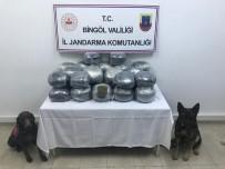 Narkotik Köpekleri Çalılar Arasına Gizlenmiş 60 Kilo Toz Esrarı Buldu