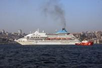 SULTANAHMET - (ÖZEL) 550 Yolculu Kruvaziyer Gemisi İstanbul'da