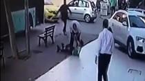 Patenle Kayan Çocuğun Otobüs Şoförü Tarafından Darbedilmesi Güvenlik Kamerasında