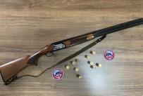 Balıkesir'de Polis 5 Silah Ele Geçirdi
