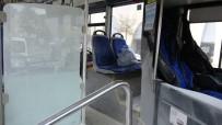 İstanbul'da Belediye Otobüsünde Panik Anları