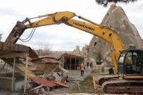 GÖREME - Kapadokya'da 178 Kaçak Yapı Yıkıldı