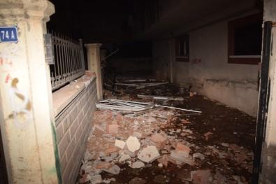 Ustanın yaptığı evi patlattı!