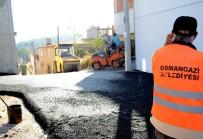 OVAAKÇA - Osmangazi'den Ovaakça Ve Panayır'da Asfalt Çalışması