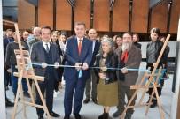 SERGİ AÇILIŞI - 'Yapraklarda Troya Efsanesi'nin 3. Sergisi Açıldı