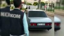 YUNUS TİMLERİ - Adana'da Şüphe Üzerine Durdurulan Otomobilden 180 Şişe Sahte İçki Çıktı
