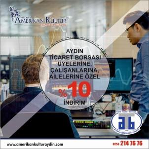 Aydın Ticaret Borsası Üyelerine İndirimli Yabancı Dil Öğrenme İmkanı