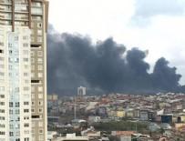 Çekmeköy'de orman yangını