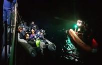 KAÇAK GÖÇMEN - Didim'de 34 Düzensiz Göçmen Yakalandı