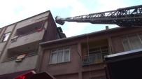 Fikirtepe'de 4 Katlı Binada Yangın Paniği