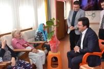 CEMAL ŞAHIN - Kaymakam Şahin'den Ayten Nine'ye Ziyaret
