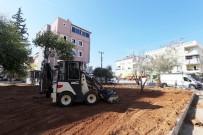 Kepez Belediyesi'nden Teomanpaşa'ya Bir Yeşil Alan Daha