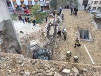 (Özel) Fren Yerine Gaza Basan Kadın Sürücü 9 Metreden Aşağı Uçtu