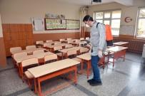 Taşköprü Belediyesi, Okullar Açılmadan Dezenfekte Ettiriyor
