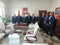 HASAN YAMAN - Yeni MHP Yönetiminden Kaymakam Yaman'a Ziyaret