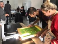 SERGİ AÇILIŞI - İlk Serigrafi Çalıştayı Gerçekleştirdi