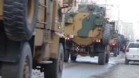 ASKERİ KONVOY - Irak Sınırına Askeri Sevkiyat