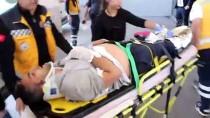 DEMİR ÇUBUK - Kozalak Toplamak İçin Ağaca Çıkan Kişi Elektrik Akımına Kapılarak Yaralandı