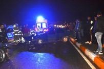 Lüks Cip İle Otomobil Çarpıştı Açıklaması 3 Yaralı
