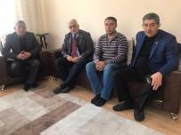 GÖKMEYDAN - Milletvekili Ayrım Otogarda Hayatını Kaybeden Akrabasının Evine Taziyede Bulundu