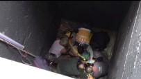Şişli'de İnşaat İşçisi Metrelerce Yüksekten Boşluğa Düştü