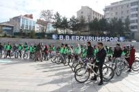 BİSİKLET TURU - Üniversiteli Öğrenciler Sağlıklı Nesil İçin Pedalladılar