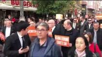 Eskişehir'de Erkekler Kadına Şiddete Dikkati Çekmek İçin Yürüdü