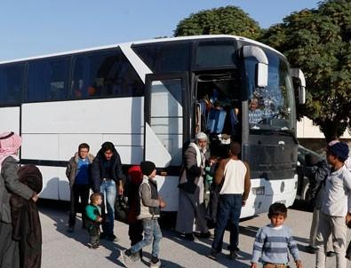 Suriyelilerin eve dönüş mutluluğu