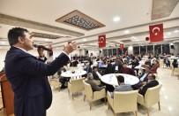 FUTBOL TURNUVASI - Ahlat Belediyesi Öğretmenleri Yemekte Ağırladı