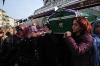 Cinayete Kurban Giden Ayşe Tuğba'nın Cenazesi Kadınların Omzunda Taşındı