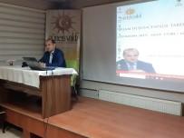 PARADIGMA - Güneş Vakfı'nda 'İslam Düşüncesinde Tarih Anlayışı' Konferansı