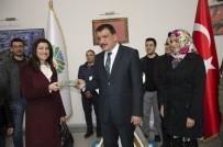 CEBRAIL - Öğretmenlerden Başkan Gürkan'a  Ziyaret