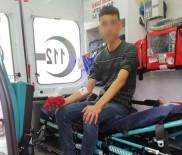 HARMANLı - Tüfek Geri Tepince Yüzünden Yaralandı