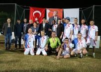 FUTBOL TURNUVASI - Atatürk Kupası'nın Şampiyonu Koruma Şube Oldu
