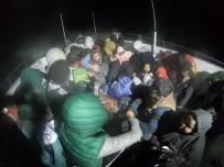 Ayvalık'ta 143 Mülteci Yakalandı