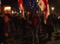 MUHALEFET PARTİLERİ - Gürcistan'da Seçim Protestosu Devam Ediyor