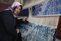 Kızıltepeli Kadınların Dokuduğu İpek Halılar Yurt Dışına İhraç Ediliyor