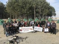 BALIK AVI - NEVÜ Balıkçılık Ve İzci Kulüpleri Çadır Kurup Kamp Yaptı