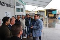 KARAVAN - Seferihisar Belediyesine Taziye Karavanı Desteği