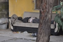 E5 KARAYOLU - Sokakta Yaşayan Adam Koltukta Ölü Bulundu