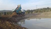 ONARIM ÇALIŞMASI - Su Kaçıran Gölet Yenilendi