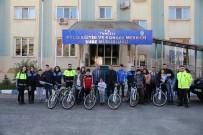 Tunceli Polisinden, Öğrencilere Bisiklet Ve Olta