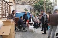 AKÜLÜ SANDALYE - Engelli Ailenin Kaldığı Harabe Ev Onarıldı