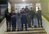 ŞÜPHELİ ARAÇ - Jandarmanın Özel Ekip Kurarak Yakaladığı 4 Şüpheli Tutuklandı