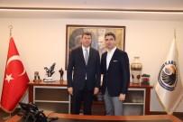 Kadıköy Belediye Başkanı Şerdil Dara Odabaşı'ndan Başkan Gökhan Yüksel'e Nezaket Ziyareti