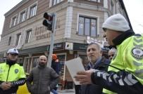 YAYA GEÇİDİ - Kars'ta 'Yaya Önceliğinde' Farkındalık Etkinliği