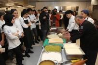 MUSTAFA YAŞAR - KBÜ Gastronomi Öğrencileri 'Usta Şeflerle' Mutfakta