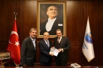 Prof. Acar Baltaş'tan Başkan Akgün'e Ziyaret